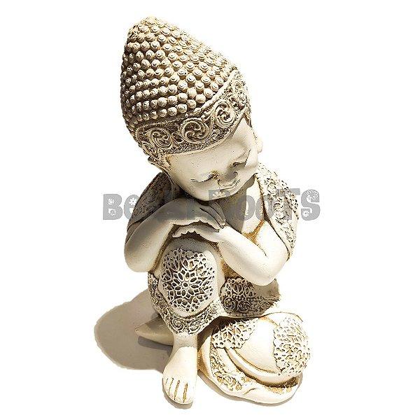 Escultura Buda Branco