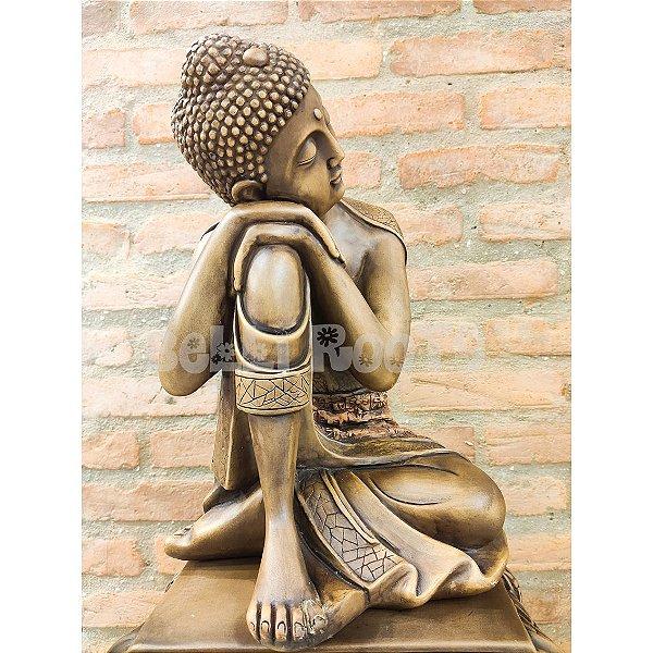 Escultura Buda Meditação - Grande