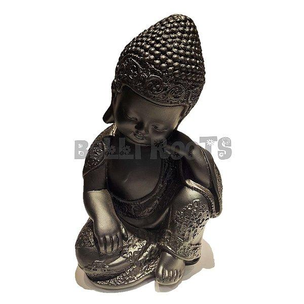 Escultura Buda Preto