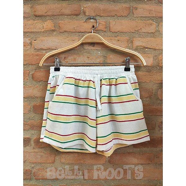 Shorts Reggae - Branco