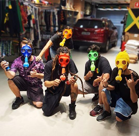 Máscara Bong - Colors
