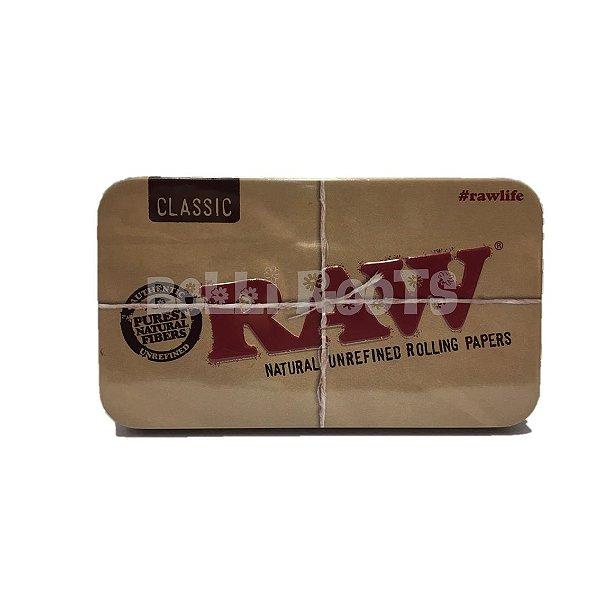 Porta cigarro metálico - RAW GRANDE