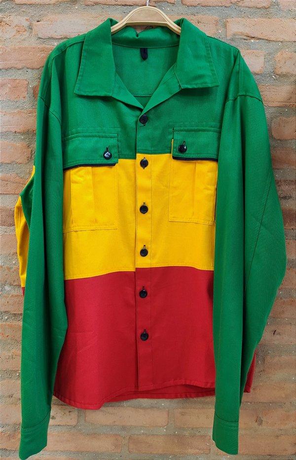 Camisão Reggae - Belli Roots