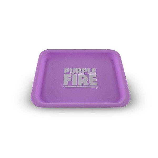 Bandeja Purple Fire de Silicone - Brilha no escuro roxa