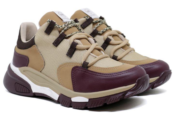 Tênis Chunky Dad Sneaker Via Marte 20-6963 Feminino - Multicor
