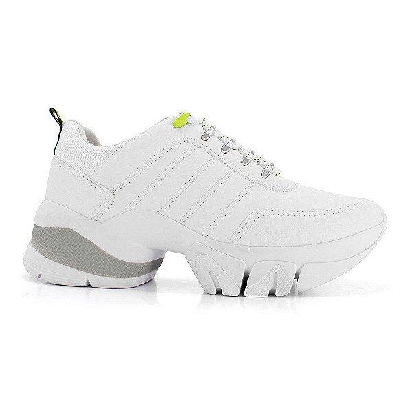 Tênis Chunky Dad Sneaker Ramarim 20-80103 Feminino - Branco