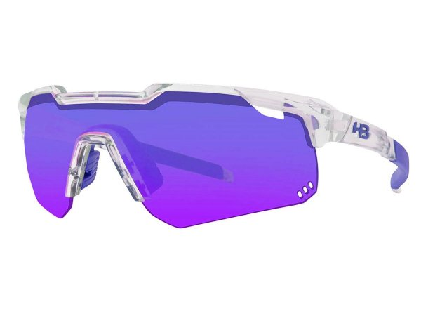 Óculos HB Shield Evo R Clear Multi Purple