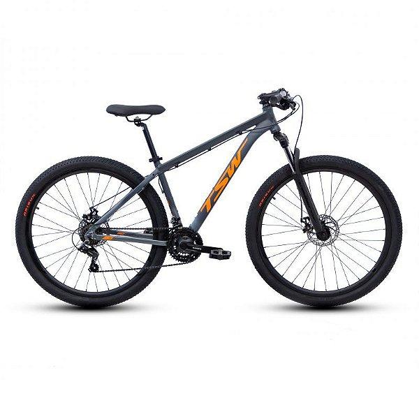 TSW Ride Cinza e Laranja 21V