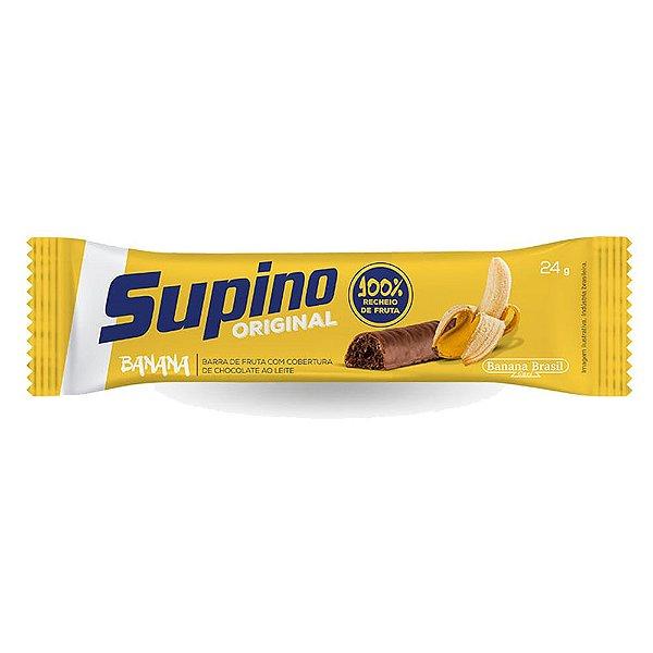 Barra Supino 24g Original Banana e Cobertura Chocolate