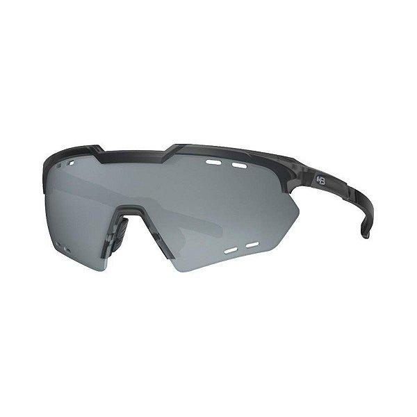 Óculos HB Kit Shield Compact R Gray Amber Silver