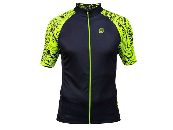 Camisa Furbo Unissex Marmo Preto e Verde