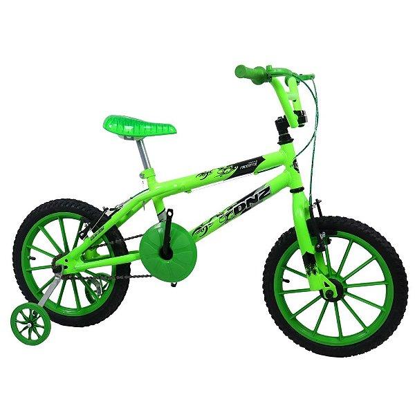 Bicicleta Aro 16 DNZ Freestyle Verde