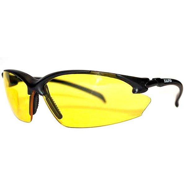 Óculos Kalipso Capri Preto Lente Amarela