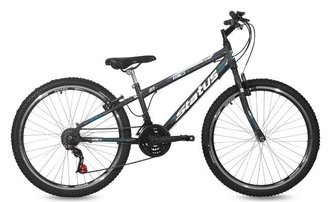 Bicicleta Aro 26 Status Freeride Big Evolution 21V Preto