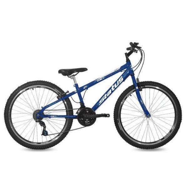 Bicicleta Aro 26 Status Freeride Big Evolution 21V Azul Real