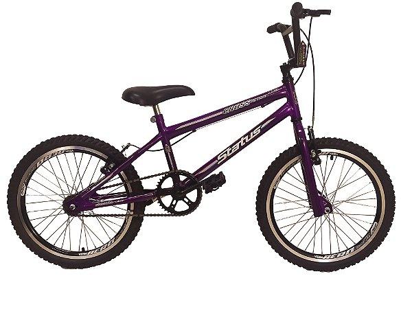 Bicicleta Aro 20 Status Cross Aero Violeta