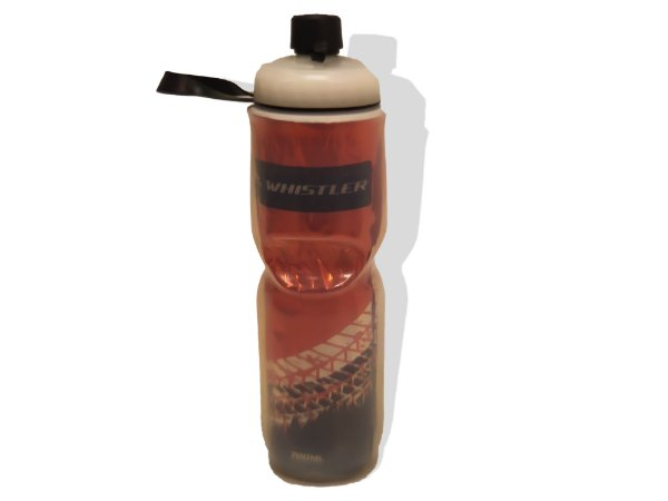 Caramanhola Termica 700ml Whistler Rastro Vermelho e Preto