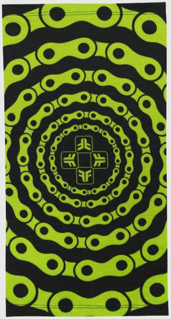 Bandana Free Force Chains Preto e Verde