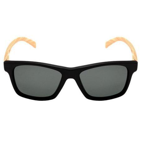 Óculos HB Unafraid Matte Black Wood Polarized Gray