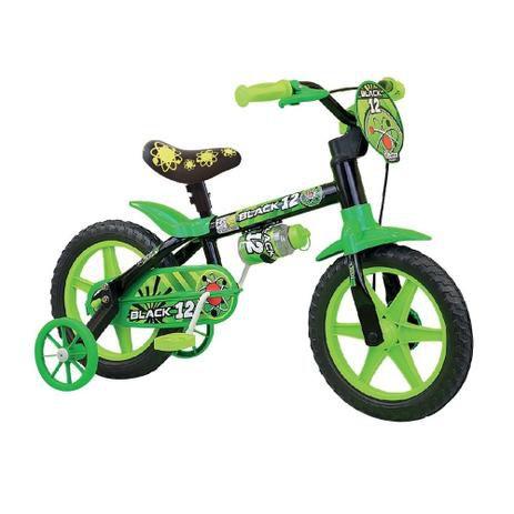 Bicicleta Aro 12 Nathor Black