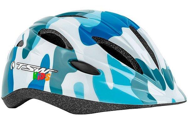 Capacete Infantil TSW New Azul/Branco