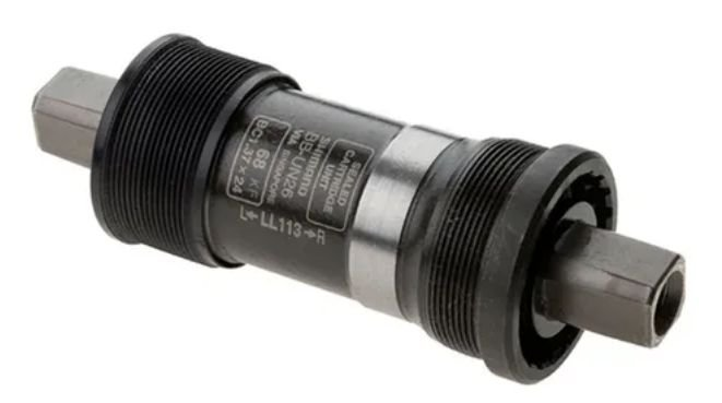 Movimento Central 117.0mm P Quadrada Shimano Un26 ABBUN26KBY17B