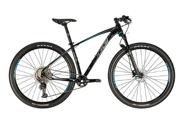 Bicicleta Aro 29 Oggi Big Wheel 7.3 (2021) 12V Preto/Grafite/Azul