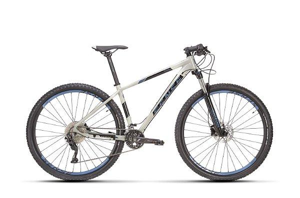 Bicicleta Aro 29 Sense Rock Evo (2021) Cinza/Azul