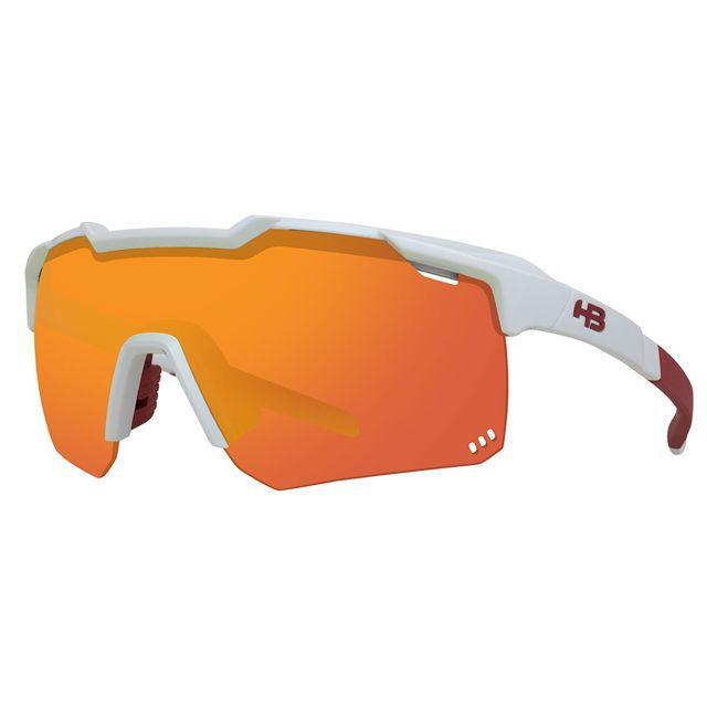 Óculos HB kit Shield Evo R Red Gray Crytal 10103400228042
