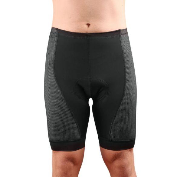 Bermuda Cycle7 Masculino Endurance Gel Carbon Preto