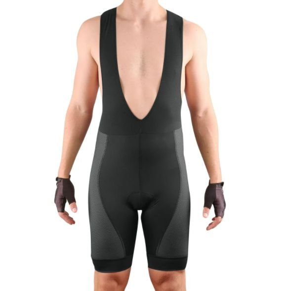 Bretelle Cycle7 Masculino Endurance Gel Carbon Preto