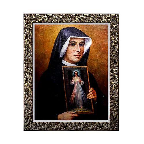 Quadro de Santa Faustina