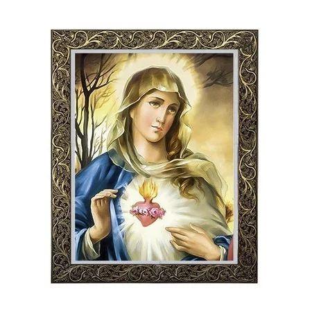 Quadro Sagrado Coração de Maria 2