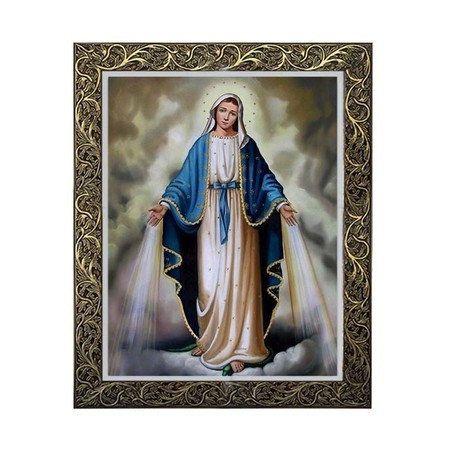 Quadro Nossa Senhora das Graças com Medalha 2