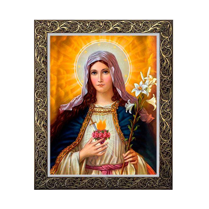 Quadro Sagrado Coração de Maria 3