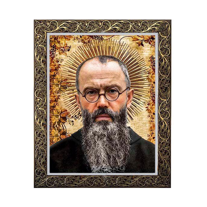 Quadro São Maximiano Kolbe 2