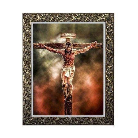 Quadro Jesus na Cruz 1