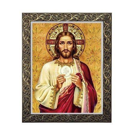 Quadro Jesus na Eucaristia 1