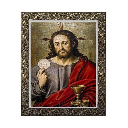 Quadro Jesus na Eucaristia 2