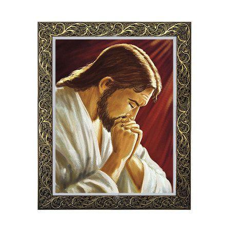 Quadro Jesus Rezando 2