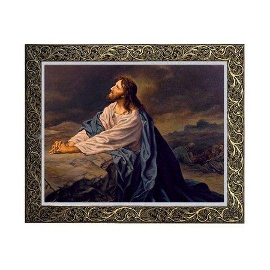 Quadro Jesus Rezando 4