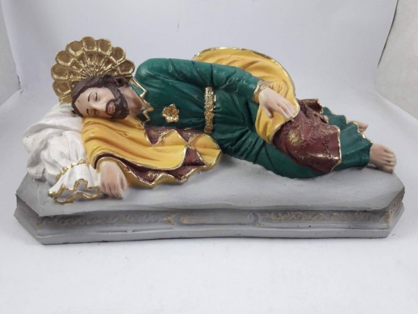 São José Dormindo resina 20 cm