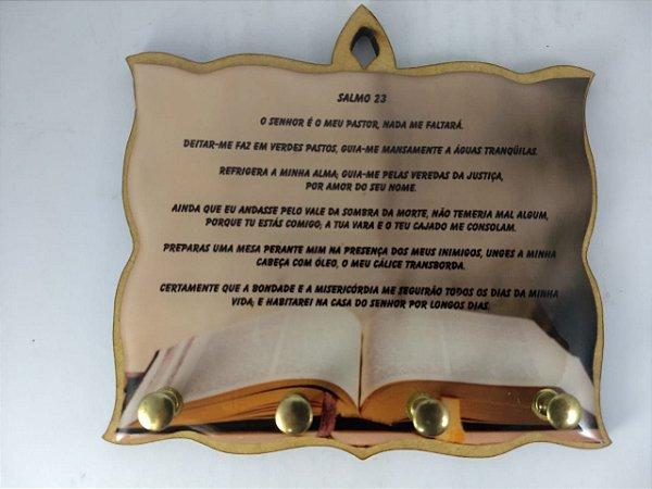 Porta Chaves Salmo 23 de 4 Pinos