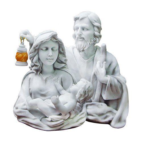 Sagrada Família Busto de Mármore 25 cm