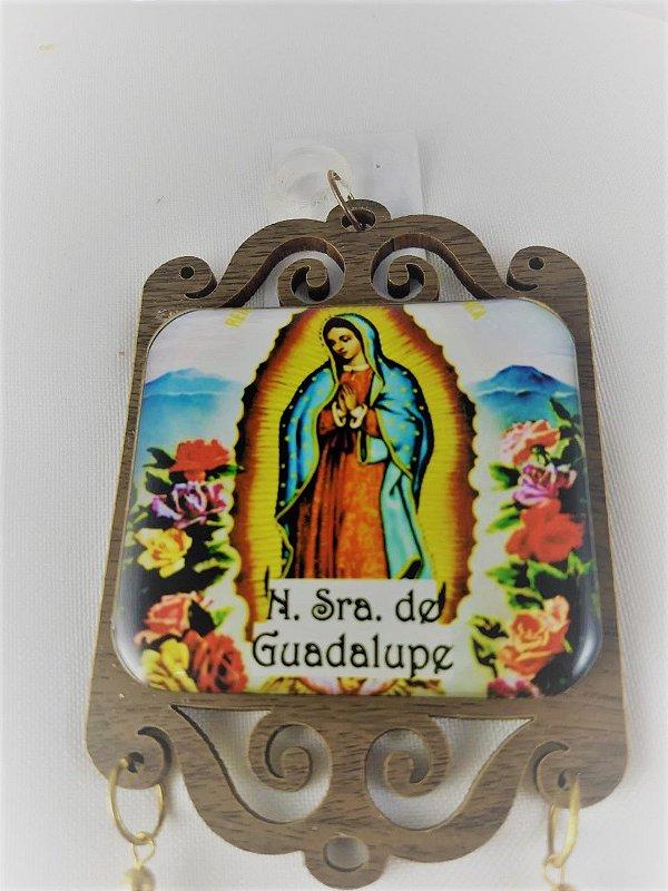 Adorno Nossa Senhora de Guadalupe com Benção do Lar