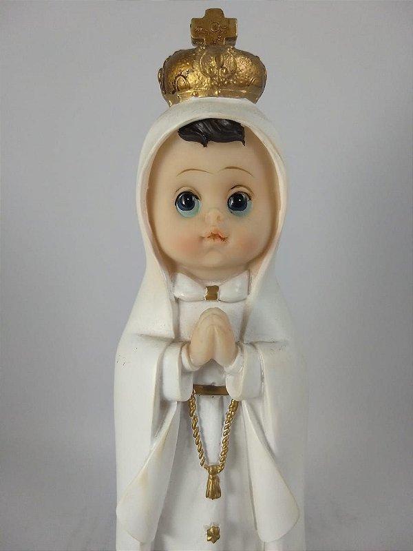 Nossa Senhora de Fátima Infantil 20 cm