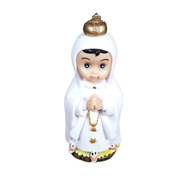 Nossa Senhora de Fátima Infantil 8 cm