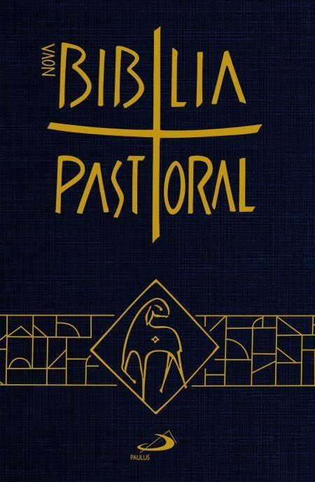 Bíblia de Bolso Nova Pastoral Capa Cristal