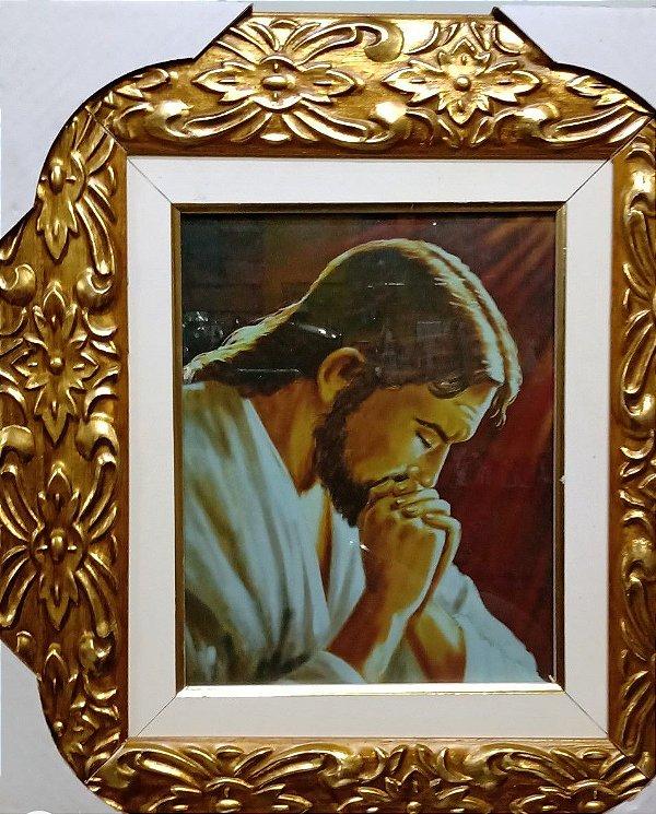Quadro Jesus Rezando
