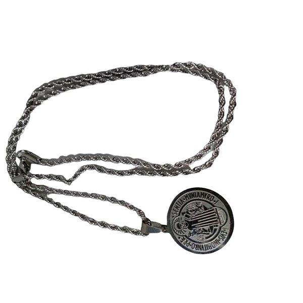 Cordão Inox Medalha de São Bento Pequeno